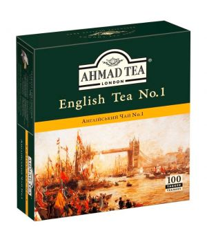 Чай черный пакетированный Ахмад Чай Английский №1 100 х 2 г