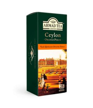 Чай черный пакетированный Ахмад Цейлон Оранж Пеко 25 х 2 г