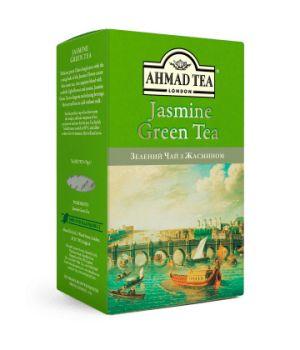Чай зеленый листовой Ахмад с Жасмином 75 г