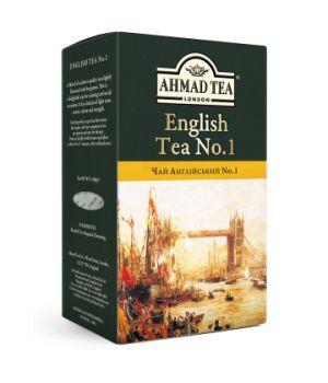 Чай черный листовой Ахмад Английский №1 100 г