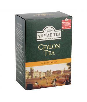 Чай черный листовой Ахмад Цейлон Оранж Пеко Голд 200 г