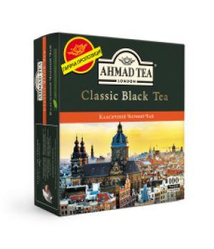 Чай черный пакетированный Ахмад Классический Черный Чай 100 х 2 г