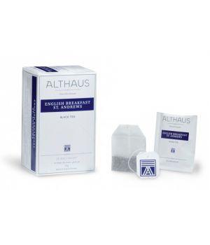 Чай черный пакетированный Althaus Английский завтрак 20 х 1.75 г