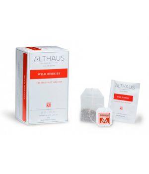 Чай фруктовый пакетированный Althaus Дикие Ягоды 20 х 2.5 г