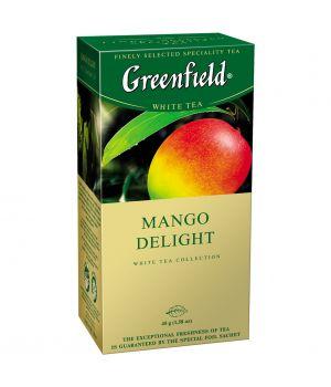 Чай фруктовый пакетированный Greenfield Манго Делайт 25 х 1.8 г