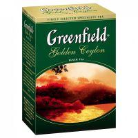 Чай черный листовой Greenfield Голден Цейлон 100 г