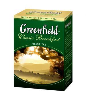 Чай черный листовой Greenfield Классик Брекфест 100 г