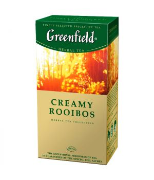 Чай травяной пакетированный Greenfield Крем Ройбуш 25 х 1.5 г
