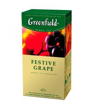 Чай травяной пакетированный Greenfield Фестив Грейп 25 х 2 г