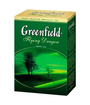 Чай зеленый листовой Greenfield Флаинг Драгон 100 г