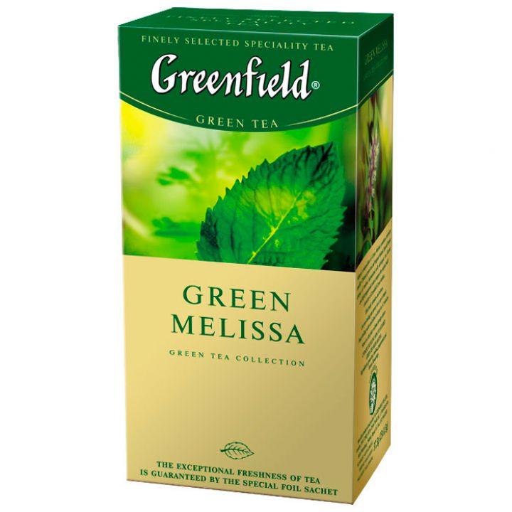 Чай травяной пакетированный Greenfield Грин Меллиса 25 х 1.5 г