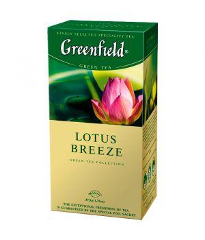 Чай травяной пакетированный Greenfield Лотос Бриз 25 х 1.5 г