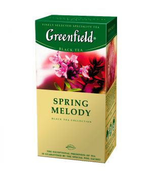 Чай травяной пакетированный Greenfield Спринг Мелоди 25 х 1.5 г