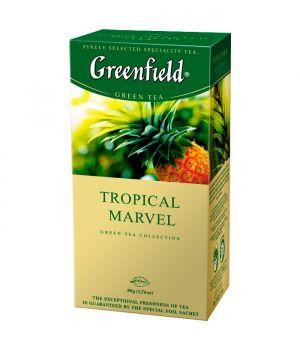 Чай травяной пакетированный Greenfield Тропикал Марвел 25 х 1.5 г