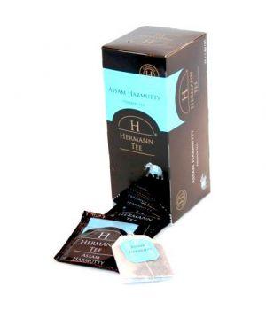 Чай черный пакетированный Hermann Ассам Хармутти 25 х 1.5 г
