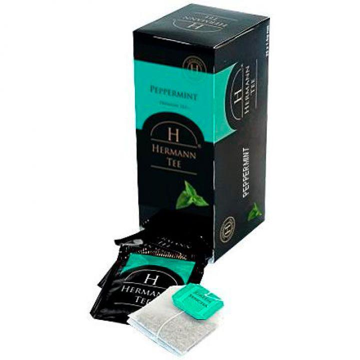Чай травяной пакетированный Hermann Перцовая Мята 25 х 1.5 г