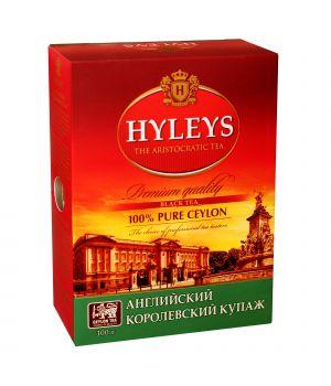 Чай черный листовой Hyleys Английский Королевский Купаж 100 г