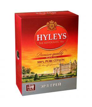 Чай черный листовой Hyleys Эрл Грей 100 г