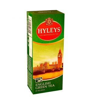 Чай зеленый пакетированный Hyleys Английский 25 х 2 г