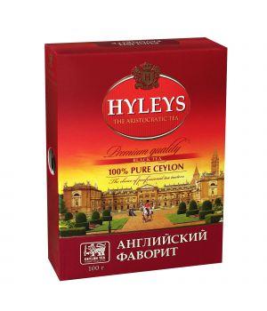 Чай черный листовой Hyleys Английский Фаворит 100 г