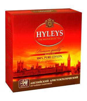 Чай черный пакетированный Hyleys Английский Аристократический 100 х 2 г