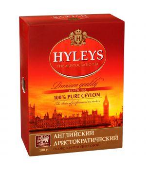 Чай черный листовой Hyleys Английский Аристократический 100 г