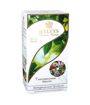 Чай травяной пакетированный Hyleys Ассорти Семь вкусов 25 х 1.5 г