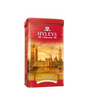 Чай черный листовой Hyleys Английский Аристократический ж\б 125 г