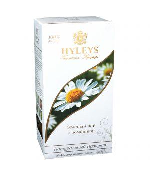 Чай зеленый пакетированный Hyleys с Ромашкой 25 х 1.5 г
