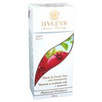 Чай черный и зеленый пакетированный Hyleys с Гранатом 25 х 1.5 г