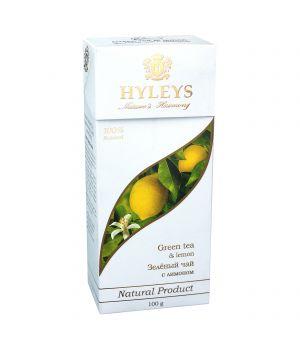 Чай зеленый пакетированный Hyleys с Лимоном 25 х 1.5 г