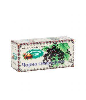 Чай фруктовый пакетированный Карпатский Черная Смородина 20 х 2 г