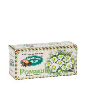 Чай травяной пакетированный Карпатский Ромашка 20 х 2 г