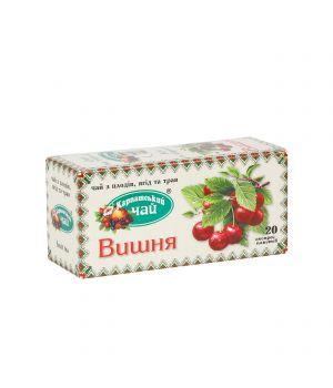 Чай фруктовый пакетированный Карпатский Вишня 20 х 2 г