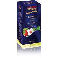 Чай травяной пакетированный Messmer 6 - Трав 25 х 1.75 г