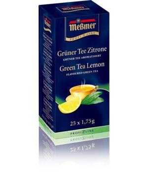 Чай зеленый пакетированный Messmer Зеленый Лимон 25 х 1.75 г
