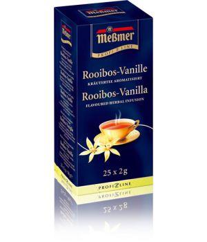 Чай травяной пакетированный Messmer Ройбуш Ваниль 25 х 1.75 г