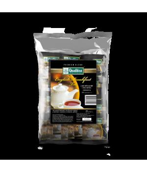 Чай черный пакетированный Qualitea Английский Завтрак 100 х 2 г