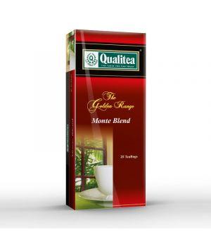 Чай черный пакетированный Qualitea Monte Blend 25 х 1.8 г