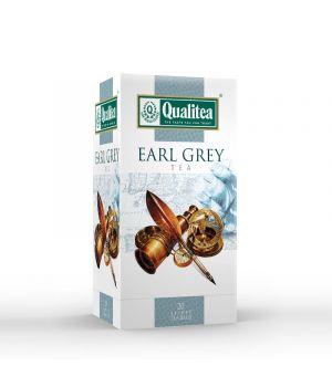 Чай черный пакетированный Qualitea Эрл Грей 20 х 2 г