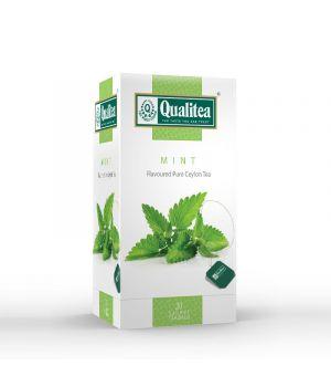 Чай траяной пакетированный Qualitea Мята 20 х 2 г