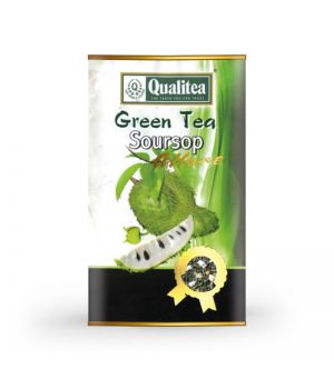 Чай зеленый Qualitea Soursop ж\б 100 г