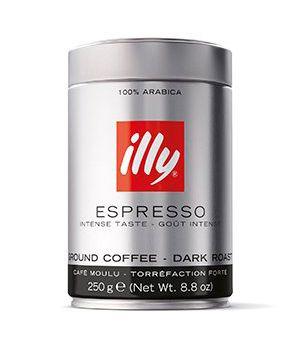 Кофе молотый illy Dark ж/б 250 г