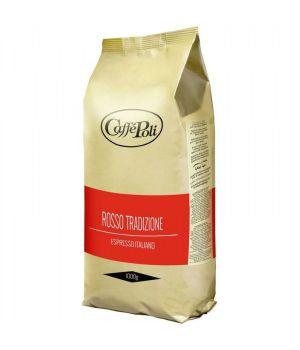 Кофе в зернах Caffe Poli Rosso Tradizione 1000 г