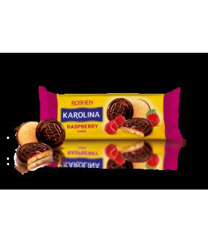 Печенье Roshen Karolina с желейной начинкой со вкусом малины 135г