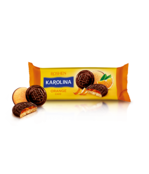 Печенье Roshen Karolina с желейной начинкой со вкусом апельсина 135г