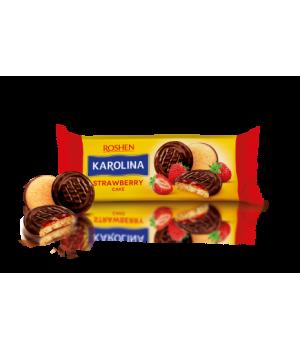 Печенье Roshen Karolina с желейной начинкой со вкусом клубники 135г