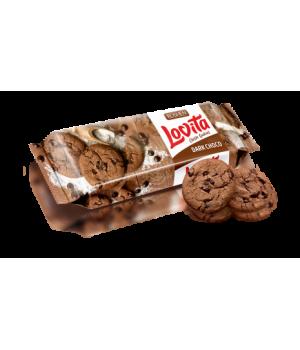 Печенье Roshen Lovita Classic с какао и кусочками глазури 150 г
