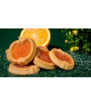Печенье Делиция Райские яблочки со вкусом апельсина или вишни 1000 г