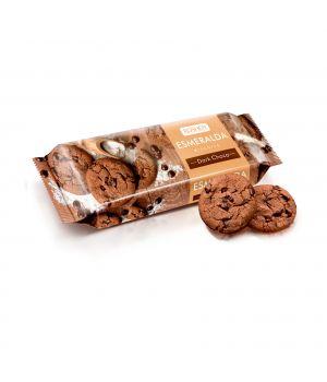 Печенье Roshen Есмеральда с какао и кусочками глазури 150 г